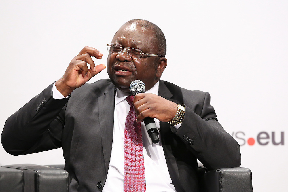 03 June 2015 - Belgium - Brussels - European Development Days - EDD - Trade - Trade for inclusive and sustainable growth - Luc Magloire Mbarga Atangana , Minister for Trade , Cameroon © European Union