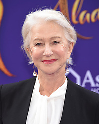 Michael Buffer arriving to the 'Aladdin' World Premiere at El Capitan Theatre. 21 May 2019 Pictured: Helen Mirren. Photo credit: O'Connor/AFF-USA.com / MEGA TheMegaAgency.com +1 888 505 6342
