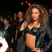 NLD/Amsterdam/20130408 - Presentatie Wasteland ring Stacey's Silver, Fajah Lourens