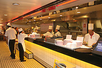 Launch of Royal Caribbean International's newest ship Allure of the Seas..Johnny Rockets