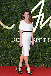 Kelly Brook arriving at the British Fashion Awards in London, Monday, 2nd December 2013. Picture by i-Images