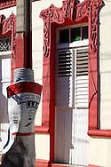 Sculpture in Bayamo, Granma, Cuba.