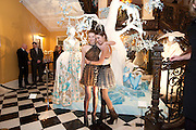 BEN GRIMES; AMBER LE BON, Unveiling of the Dior Christmas Tree by John Galliano at Claridge's. London. 1 December 2009