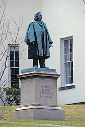 Henry Ward Beecher Statue, Amherst College