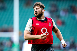 Alec Hepburn of England - Mandatory by-line: Robbie Stephenson/JMP - 10/11/2018 - RUGBY - Twickenham Stadium - London, England - England v New Zealand - Quilter Internationals