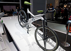SMART electric bicycle on display at Paris Motor Show 2010