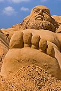 Gulliver, Sand sculpture festival on the Haifa beach, July 2006
