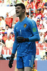 June 23, 2018 - Moscou, Russie - MOSCOW, RUSSIA - JUNE 23 :  Thibaut Courtois goalkeeper of Belgium during the FIFA 2018 World Cup Russia group G phase match between Belgium and Tunisia at the Spartak Stadium on June 23, 2018 in Moscow, Russia, 23/06/2018 (Credit Image: © Panoramic via ZUMA Press)