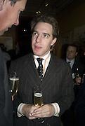 MATTHEW STEEPLES, Adam Dant: The Art of Hedge. Robilant and Voena Gallery. Dover st. London. 12 November 2007. -DO NOT ARCHIVE-© Copyright Photograph by Dafydd Jones. 248 Clapham Rd. London SW9 0PZ. Tel 0207 820 0771. www.dafjones.com.