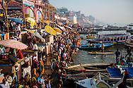 Paddling Varanasi