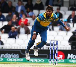 June 8, 2017 - London, United Kingdom - Suranga Lakmal of Sri Lanka.during the ICC Champions Trophy match Group B between India and Sri Lanka at The Oval in London on June 08, 2017  (Credit Image: © Kieran Galvin/NurPhoto via ZUMA Press)