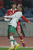 20100303: COIMBRA, PORTUGAL - Portugal vs China: International Friendly. In picture: Liedson (Portugal) and Rong Hao (China). PHOTO: CITYFILES