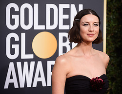 January 6, 2019 - Beverly Hills, California, U.S. - Golden Globe nominee Caitriona Balfe attends the 76th Annual Golden Globe Awards at the Beverly Hilton in Beverly Hills. (Credit Image: © Prensa Internacional via ZUMA Wire)