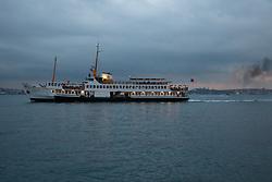 Ferry On The Bosphorus