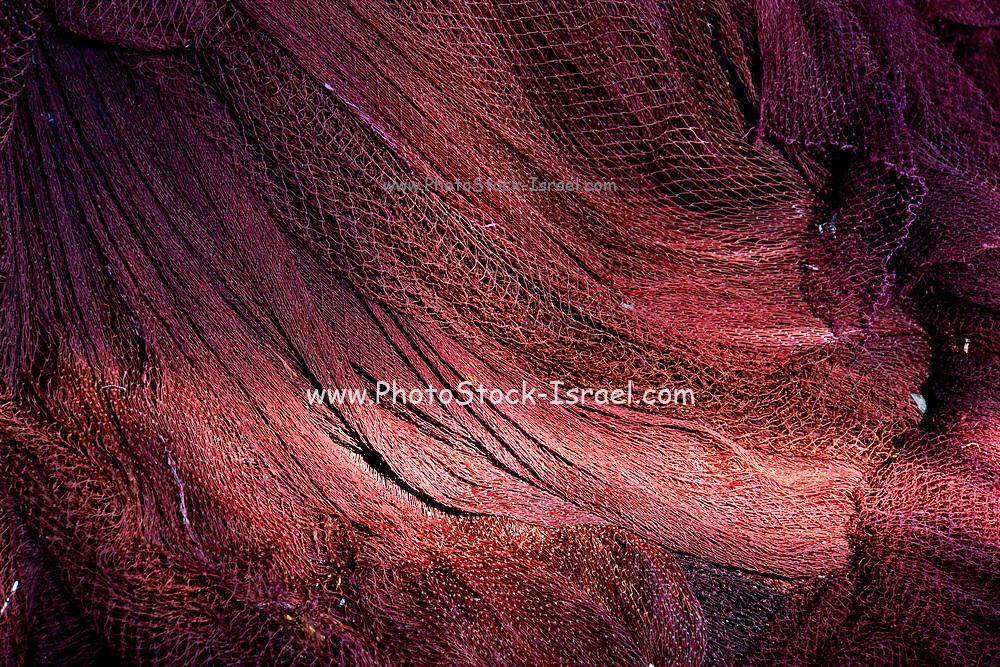 A heap of Red Fish Net