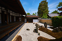 Japon, île de Honshu, région de Kansaï, Kyoto, temple Zuiho-in // Japan, Honshu island, Kansai region, Kyoto, Zuiho-in temple
