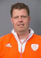 UTRECHT - Hockey - Assistent coach Bas Dirks. Nederlands Jongens A. FOTO KOEN SUYK