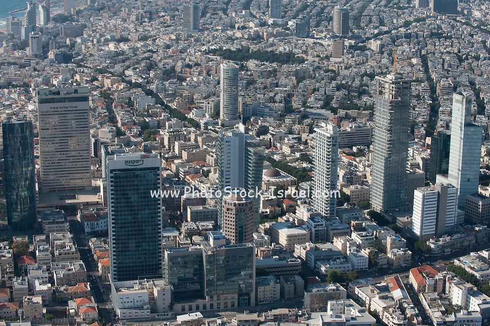 Aerial Photography of Tel Aviv, Israel