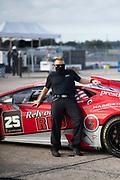 November 11-13, 2020. Lamborghini Super Trofeo, Sebring: Prestige Performance mechanic