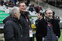 Rene GIRARD / Frederic PAQUET / Michel SEYDOUX - 31.01.2015 - Nantes / Lille - 23eme journee de Ligue 1 -<br />Photo : Vincent Michel / Icon Sport