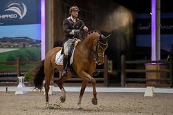 Van Ham Kevin, BEL, Eros Van Ons Heem<br /> Belgisch Kampioenschap Dressuur<br /> Azelhof - Lier 2020<br /> © Hippo Foto - Dirk Caremans<br /> 02/10/2020