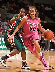 20090219 - Miami at #21 Virginia (NCAA Women's Basketball)