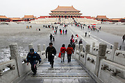 China, Beijing, The Imperial Palace in the Forbidden City