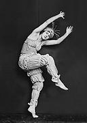 Tamara Karsavina  as Pimpinella in 'Pulcinella', 1920