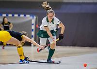 ROTTERDAM  - Claire Moerman (Adam)   finale NK  zaalhockey Rotterdam MA1-Den Bosch MA1 (4-0). Rotterdam Nederlands kampioen.    COPYRIGHT  KOEN SUYK