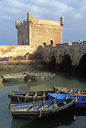 MOROCCO, ATLANTIC COAST Essaouira (originally Mogador) 16thC. Portuguese port, rebuilt by Mohammed ben Abdallah, 1765