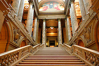 First Floor Stairs in the Minnesota State Capitol, Saint Paul, Minnesota