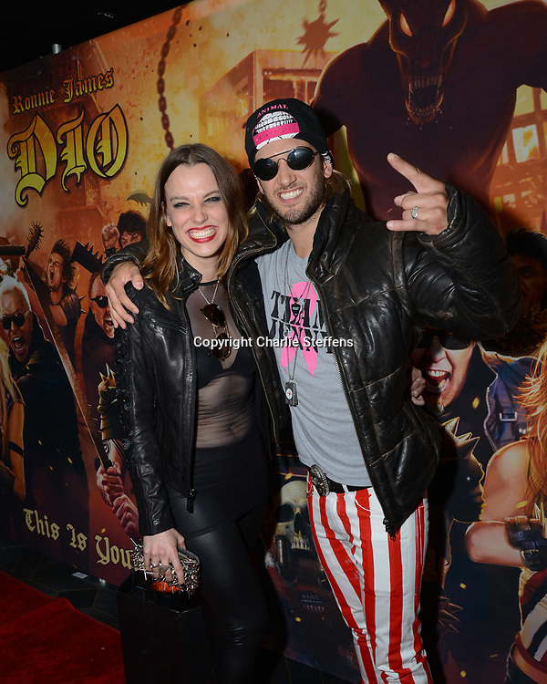 Lzzy Hale and Arejay Hale<br /> Halestorm