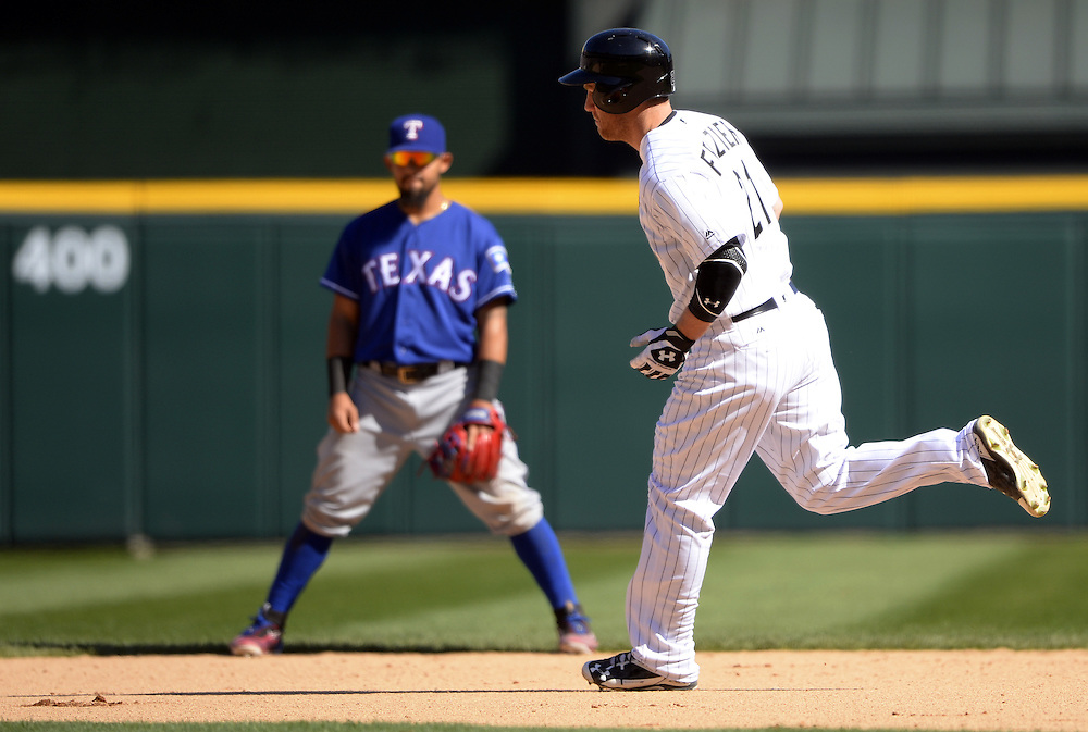 CHICAGO - APRIL 23:  Todd Frazier #21 of the Chicago White Sox runs the bases after hitting a game tying home run in the ninth inning against the Texas Rangers on April 23, 2016 at U.S. Cellular Field in Chicago, Illinois.  The White Sox defeated the Rangers 4-3 in 11 innings.  (Photo by Ron Vesely)   Subject: Todd Frazier