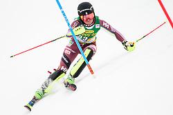 January 7, 2018 - Kranjska Gora, Gorenjska, Slovenia - Ylva Staalnacke of Sweden competes on course during the Slalom race at the 54th Golden Fox FIS World Cup in Kranjska Gora, Slovenia on January 7, 2018. (Credit Image: © Rok Rakun/Pacific Press via ZUMA Wire)