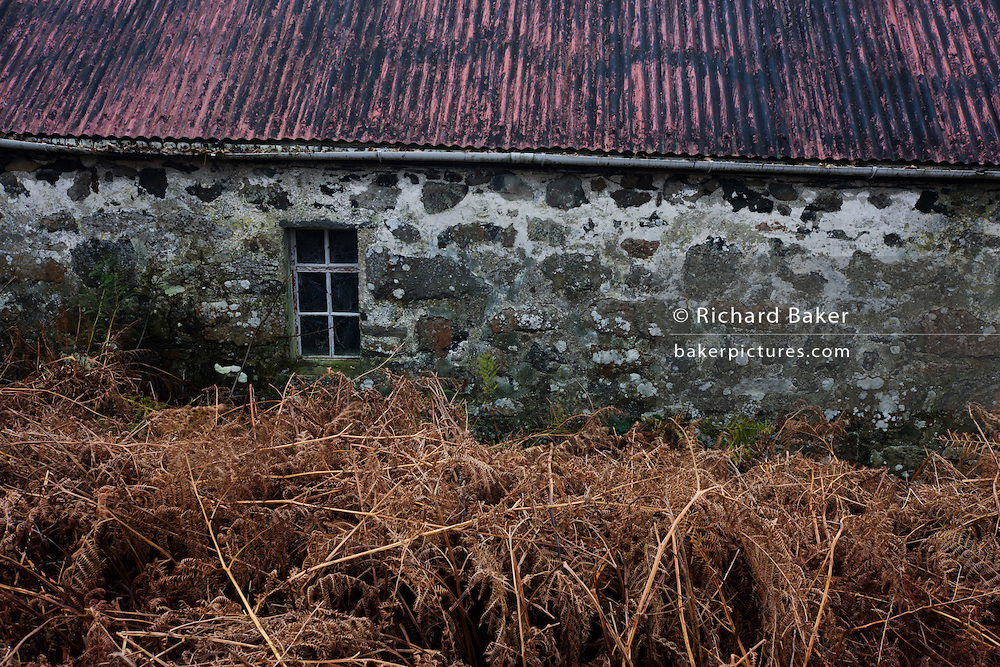 Old croft out-building at Killiemore, Isle of Mull, Scotland.