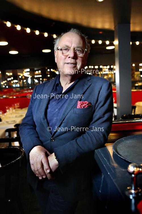 Nederland, Amsterdam , 17 februari 2015.<br /> televisiekok en restauranthouder. Joop Braakhekke heeft een zware hartoperatie ondergaan in het VUmc.<br /> Foto:Jean-Pierre Jans