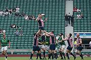 Twickenham, Lancashire, 27th May 2018.Action from the Bill Beaumont Division 1 Final, Rugby, Lancashire vs Hertfordshire,    RFU. Stadium, Twickenham. UK.  <br /> <br /> © Peter Spurrier/Alamy Live News