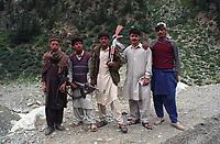 Armed Tribesmen of Swat Kohistan, Swat, Pakistan