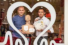 Launch of proposed bill requiring defibrillators to be registered, Edinburgh, 10 October 2019