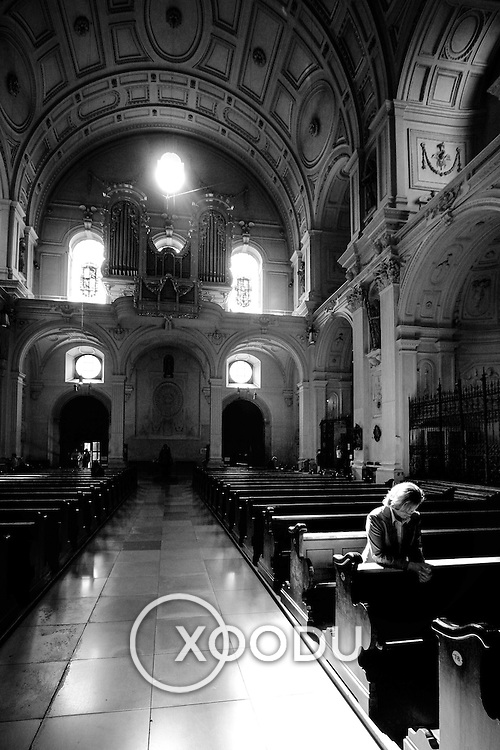 Praying, Munich, Germany (September 2005)