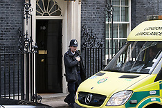 2017-03-07 Amulance called to Downing Street for unwell staff member.