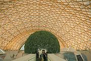 Duitsland, Hannover expo 2000, mei 2000Interieur Japans paviljoen, gebouwd voornamelijk van papier en kartonFoto: Flip Franssen/Hollandse Hoogte.