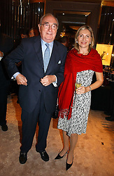 MISS KAREN PHILLIPS and JARVIS ASTAIRE at a party to ceebrate the bublication of 'The Ravenscar Dynasty' by Barbara Taylor Bradford hld at the newly opened Mousaieff Store, 172 New Bond Street, London on 28th September 2006.<br /><br />NON EXCLUSIVE - WORLD RIGHTS