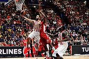 DESCRIZIONE : Milano Euroleague 2015-16 EA7 Emporio Armani Milano - Olympiacos Piraeus<br /> GIOCATORE : Vassilis Spanoulis<br /> CATEGORIA : tiro sottomano penetrazione<br /> SQUADRA : Olympiacos Piraeus<br /> EVENTO : Euroleague 2015-2016<br /> GARA : EA7 Emporio Armani Milano - Olympiacos Piraeus<br /> DATA : 30/10/2015<br /> SPORT : Pallacanestro<br /> AUTORE : Agenzia Ciamillo-Castoria/Max.Ceretti<br /> Galleria : Euroleague 2015-2016 <br /> Fotonotizia: Milano Euroleague 2015-16 EA7 Emporio Armani Milano - Olympiacos Piraeus