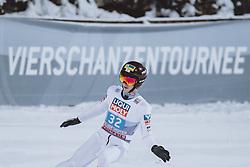 06.01.2021, Paul Außerleitner Schanze, Bischofshofen, AUT, FIS Weltcup Skisprung, Vierschanzentournee, Bischofshofen, Finale, im Bild Daniel Tschofenig (AUT) // Daniel Tschofenig of Austria during the final of the Four Hills Tournament of FIS Ski Jumping World Cup at the Paul Außerleitner Schanze in Bischofshofen, Austria on 2021/01/06. EXPA Pictures © 2020, PhotoCredit: EXPA/ JFK