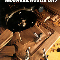 Vermont American Tools Router Bit Advertisement and Marketing Photo Illustration