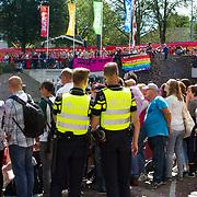 NLD/Amsterdam//20170805 - Gay Pride 2017, Politie