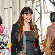 Pascale Cross is a creative director of Sodium Magazine attend the Graduate Fashion Week 2019 - Final Day, on 5 June 2019, Old Truman Brewery, London, UK.