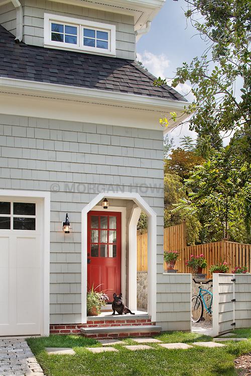 3618 N. Abingdon St Arlington, VA architect Bruce Wentworth Wentworth Studios Front home exterior