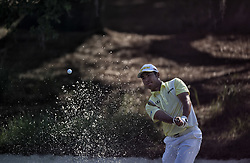May 11, 2018 - Ponte Vedra Beach, FL, USA - The Players Championship 2018 at TPC Sawgrass..Hideki Matsuyama hits out of the bunker on 12. (Credit Image: © Bill Frakes via ZUMA Wire)